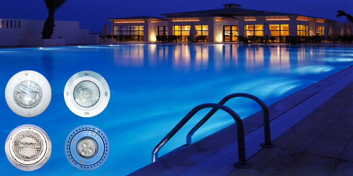 Iluminaci n para piscinas natatorios piletas de nataci n for Iluminacion led piscinas
